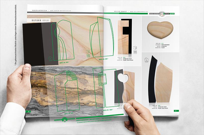 Neu: Der Holland Graniet Katalog