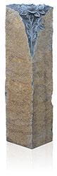 Felsen Basalt mit Ornament A3086 Bearbeitung: natur