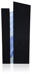 Edelstein 10061* Super Black und Azul Werkstein Serie
