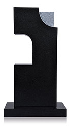 Grabdenkmal 10062* (Lampe) Super Black