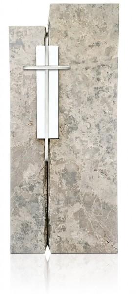 Grabdenkmal 9903* Pfrauendorfer mit Laaser Marmor Werkstein Serie