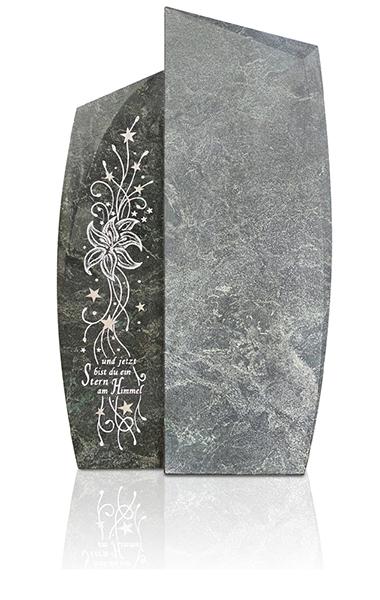 Grabdenkmal 9963* Alexandria mit Ornament A 6017 Werkstein Serie