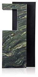 Grabdenkmal 9909* Van Gogh und Super Black Werkstein Serie