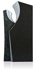 Grabdenkmal 9912* Super Black und Alexandria Werkstein Serie
