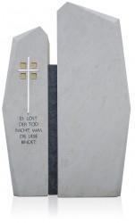 Grabdenkmal 9965* Atlantic Beige und Black Werkstein Serie