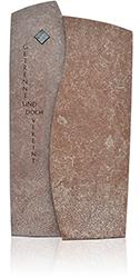 Grabdenkmal 9945* Amazonia Red und Jaspis-Tigerauge ZM Serie