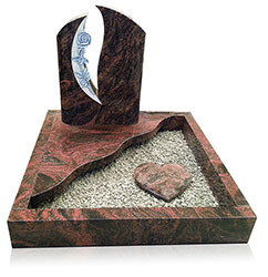Grabanlage 4523 Aurindi mit Grabdenkmal 9087 und Ornament A3051